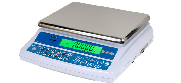 Bilancia compatta da banco per uso interno BA100 WorldWEIGH (8-32 kg)