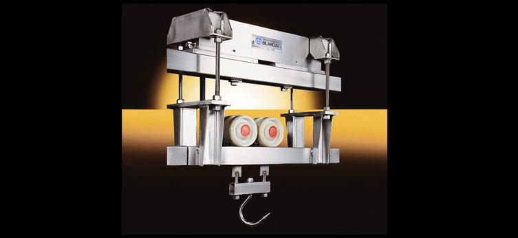 Pesetta aerea in acciaio Inox e due celle inox AR/TC (300-1000 kg)