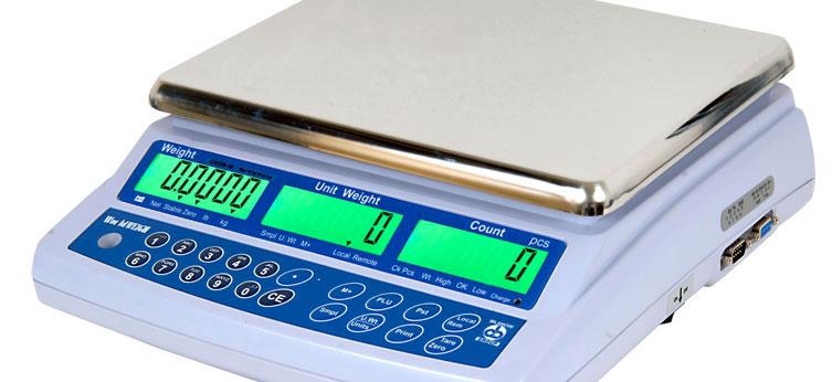 Contapezzi compatto da banco per uso interno CA100 WorldWEIGH (3-30 kg)