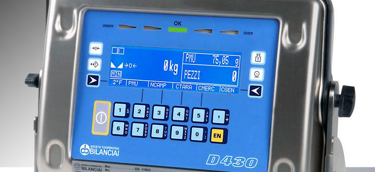 Terminale Serie Dialogica Modello D430 CPE