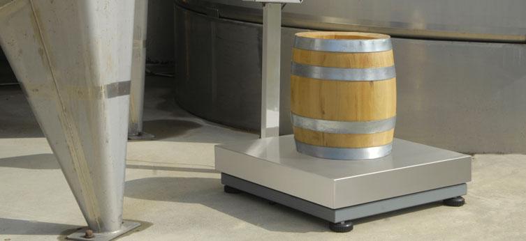 Piattaforma in acciaio verniciato e cella alluminio