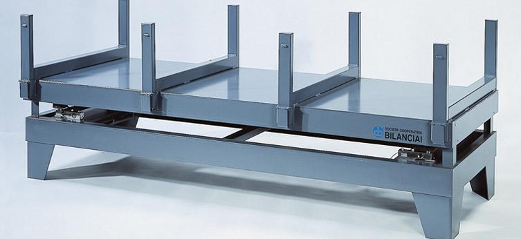 Piattaforma pesa ferro e lamiere PFL-TC