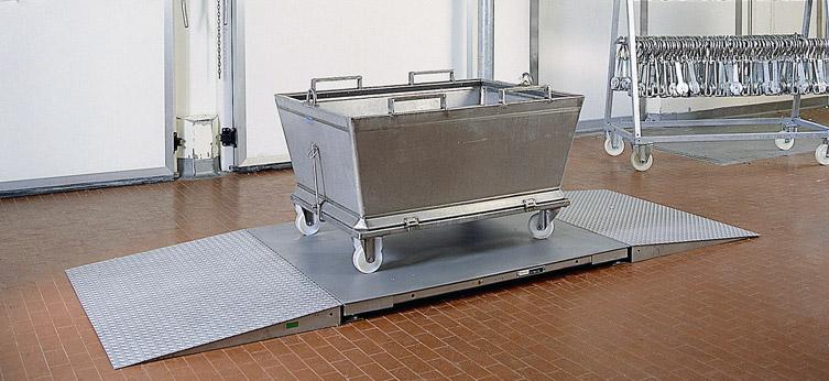 Piattaforma in acciaio inox e cella inox PRM-CX