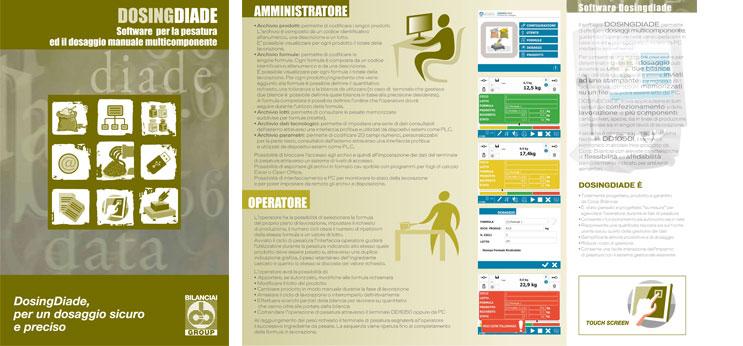 DOSINGDIADE - Software per la pesatura ed il dosaggio manuale multicomponente