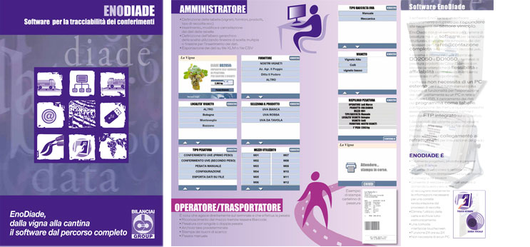 ENODIADE - Software per la tracciabilità dei conferimenti di prodotti enologici