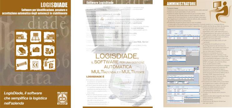 LOGISDIADE - Software per identificazione, pesatura e accettazione automatica degli automezzi in stabilimento