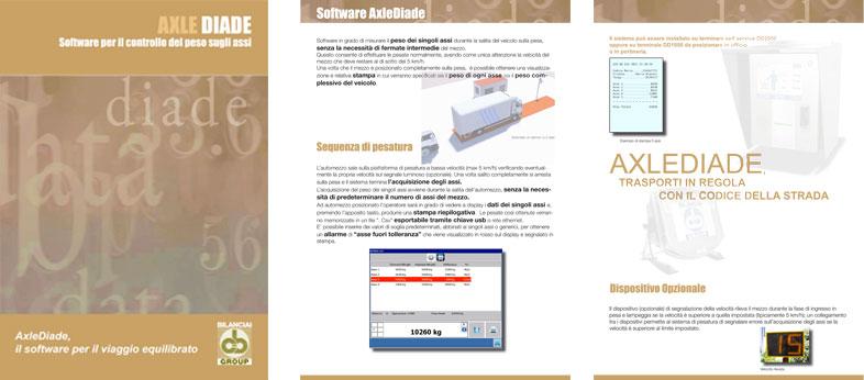 AXLEDIADE - Software per il controllo del peso sugli assi