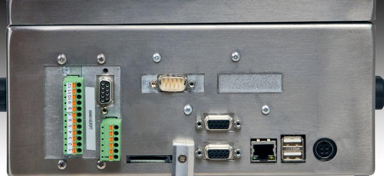 Terminale di pesatura serie Diade DD1010ic - con connettori