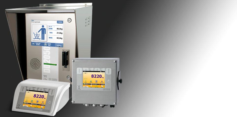 Terminali elettronici e stampanti per la pesatura